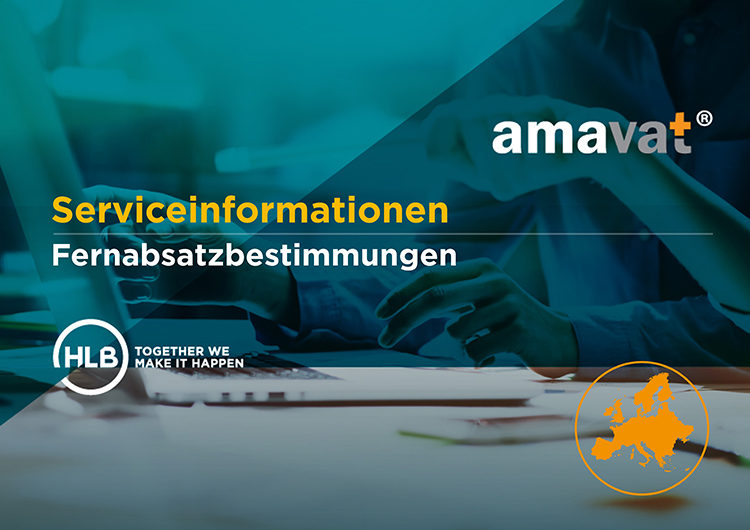 amavat® Serviceinformationen | Fernabsatzbestimmungen