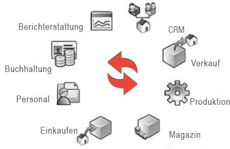 Die Vorteile ERP System
