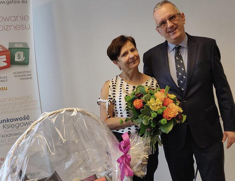 Bożena feiert ihr 5-jähriges Jubiläum bei getsix®
