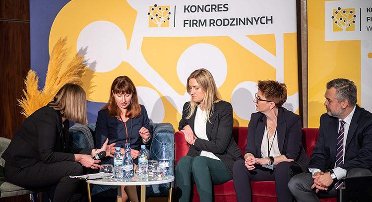 Unsere getsix® Partnerin Monika Martynkiewicz-Frank nahm an der prestigeträchtigen Veranstaltung 'Kongres Firm Rodzinnych' teil