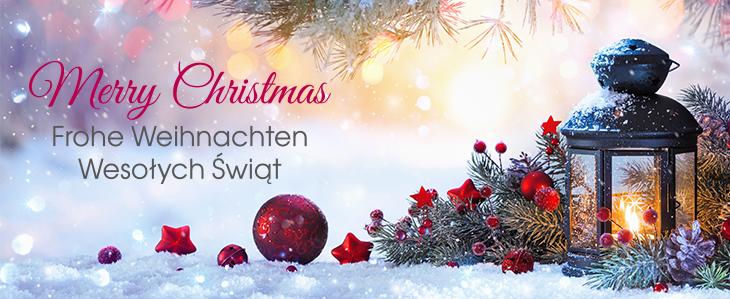 Merry Christmas! | Frohe Weihnachten! | Wesołych Świąt!