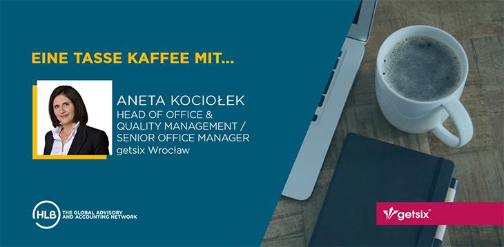 Eine Tasse Kaffee mit... Aneta Kociołek