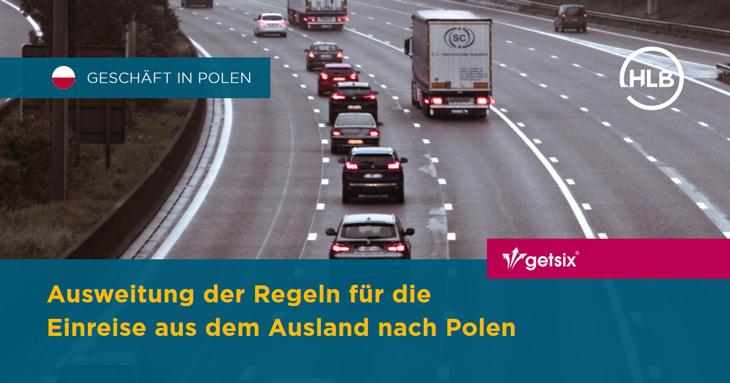 Ausweitung der Regeln für die Einreise aus dem Ausland nach Polen